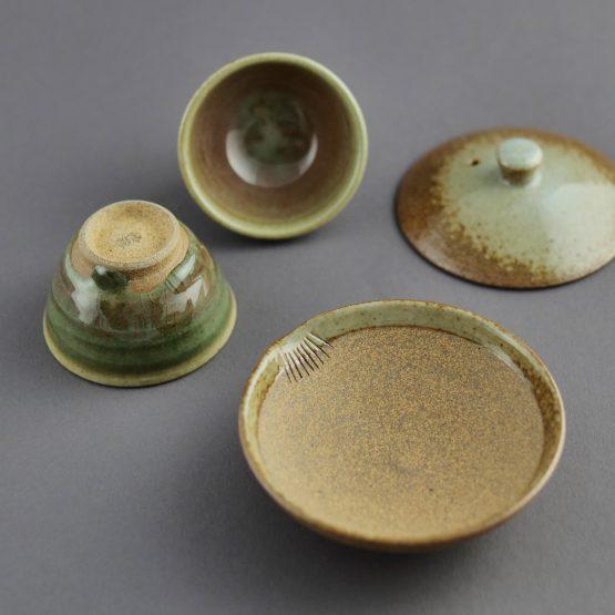 Kame-Ishi: Teeset aus Kirishima von NARIEDA Shinichiro